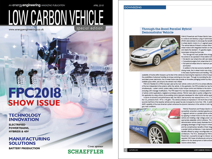 Low Carbon Vehicle Magazine