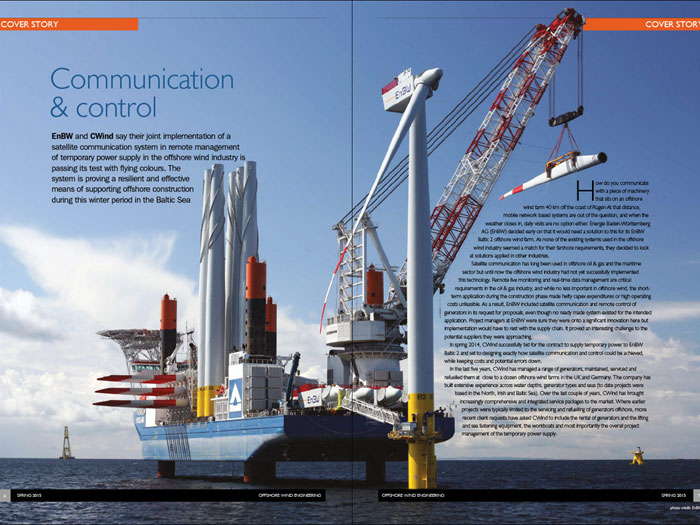 Offshore Wind Engineering Magazine